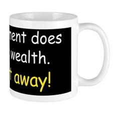 Anti obama does not create wealthdbump Mug