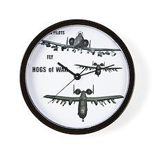 TeeShirt HOGS O WAR 01 copy Wall Clock