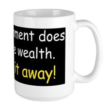 Anti obama does not create wealthd Mug