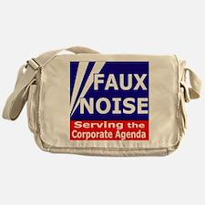 Faux NoiseCorporate Agenda Messenger Bag