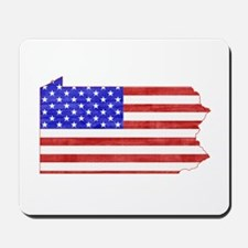 Pennsylvania Flag Mousepad