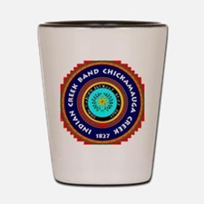 ICBCCI seal Shot Glass