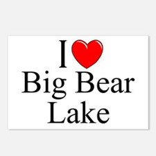 """I Love Big Bear Lake"" Postcards (Package of 8)"