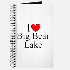 """I Love Big Bear Lake"" Journal"