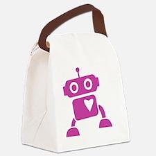 robots20 Canvas Lunch Bag