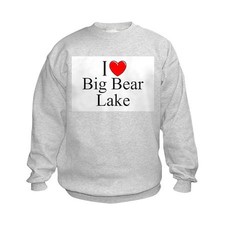 """I Love Big Bear Lake"" Kids Sweatshirt"