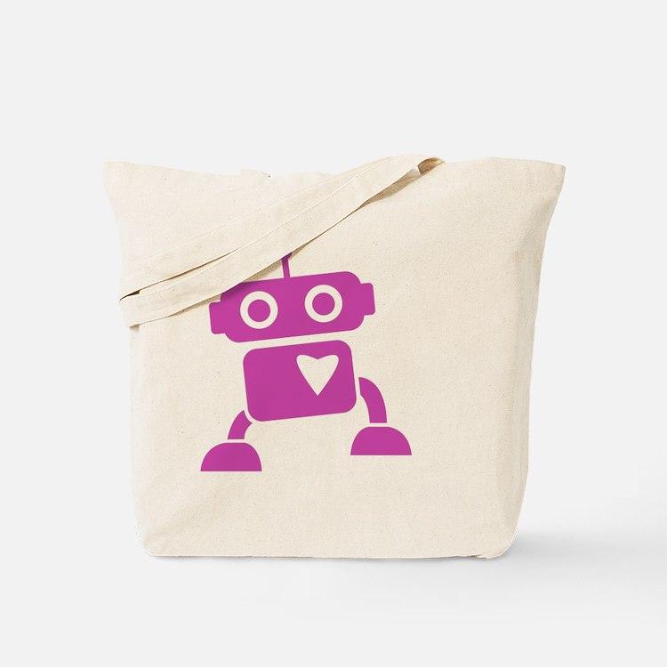 robots20 Tote Bag
