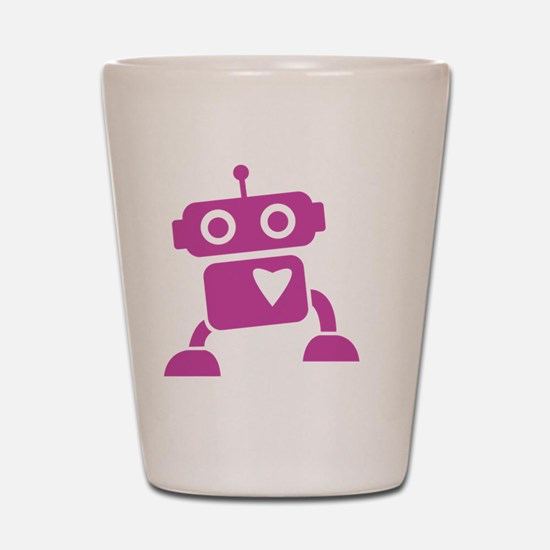 robots20 Shot Glass