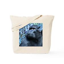 square monkey Tote Bag