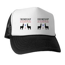 Llamas-D14-Mug Trucker Hat