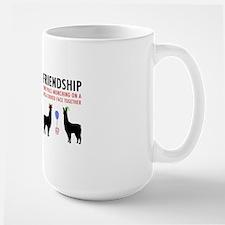 Llamas-D14-Mug Large Mug