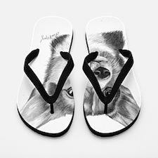 Corgi Flip Flops