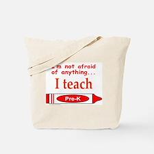 TEACH PRE-K Tote Bag