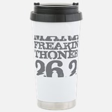 Marafreakinthoner Gray Travel Mug