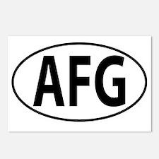 AFG - Afghanistan Postcards (Package of 8)