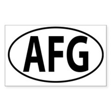 AFG - Afghanistan Decal