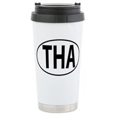 THA - Thailand Oval Travel Mug
