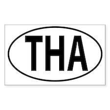 THA - Thailand Oval Decal