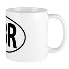 GBR - Great Britain, England, Oval Mug