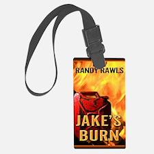 Jakes Burn greeting card Luggage Tag