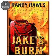 Jakes Burn greeting card Puzzle