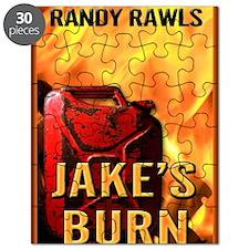 Jakes Burn mouse pad Puzzle