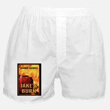 Jakes Burn notecard Boxer Shorts