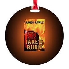 Jakes Burn button mag Ornament