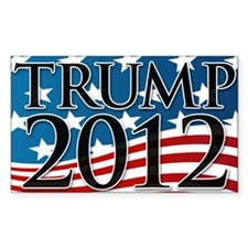 Trump 2012 Sign Decal