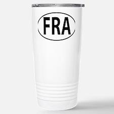 FRA - France Stainless Steel Travel Mug