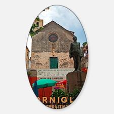 Cinque Terre - Corniglia Sticker (Oval)