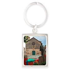 Cinque Terre - Corniglia Portrait Keychain