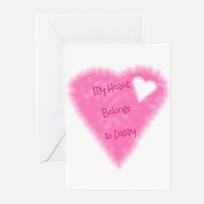 My Heart Belongs To Daddy Greeting Cards (Package