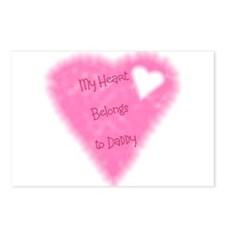 My Heart Belongs To Daddy Postcards (Package of 8)