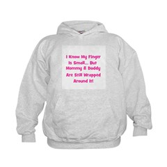 Mommy & Daddy Wrapped Around Hoodie