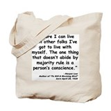 To kill a mocking bird Canvas Bags