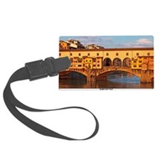 Florence - Morning at Ponte Vecc Luggage Tag