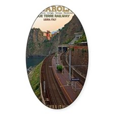 Cinque Terre Railway - Manarola Decal