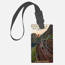 Cinque Terre Railway - Manarola Luggage Tag