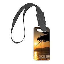 Cinque Terre Sunset Luggage Tag