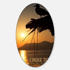 Cinque Terre Sunset Decal