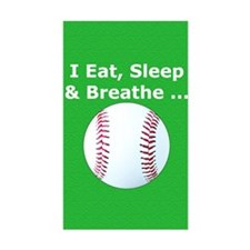 Baseball Eat Sleep Breathe Iph Decal