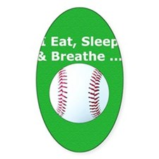 Baseball Eat Sleep Breathe Iphone3  Decal