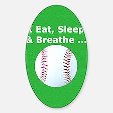 Baseball Eat Sleep Breathe Iphone3  Decal