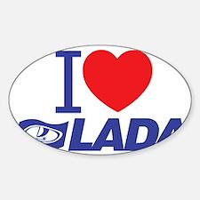 I love Lada Decal