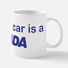 My other car is a LADA Mug