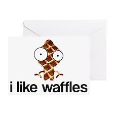 ilikewaffles Greeting Card