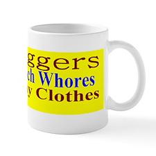 Teabagger Koch Whores Bsticker y Mug