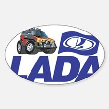 Lada Logo with cool Lada Niva Decal