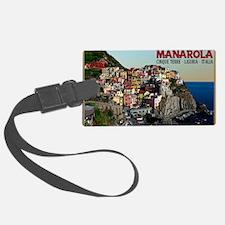 Manarola Town Luggage Tag